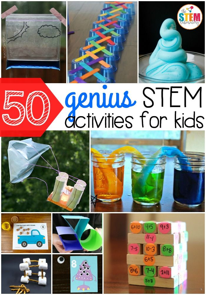 Science, Technology, Engineering and Math Activites